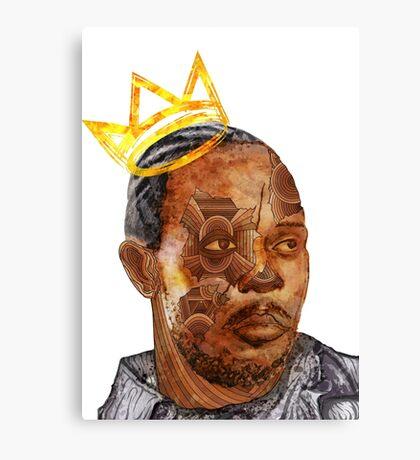 Omar The King Canvas Print
