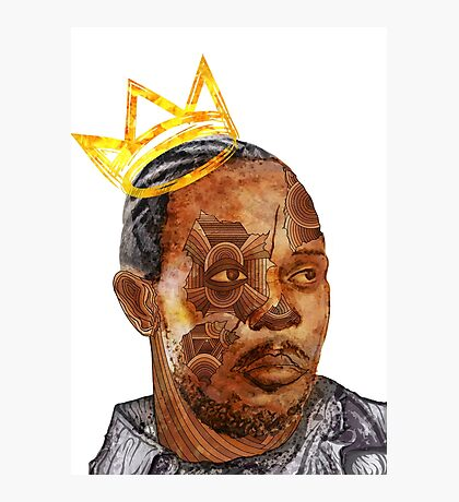 Omar The King Photographic Print