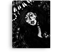 The Spiritual Catalyst B & W Canvas Print