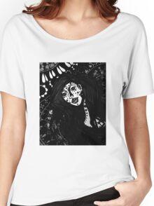 The Spiritual Catalyst B & W Women's Relaxed Fit T-Shirt
