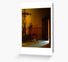 Step into my parlour... Greeting Card