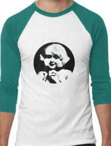 In heaven (Circle) Men's Baseball ¾ T-Shirt