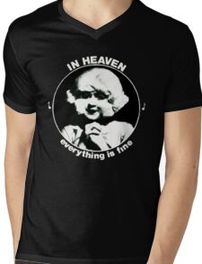 In heaven (Circle) Mens V-Neck T-Shirt
