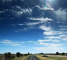 railway tracks by Danny  Waters