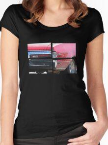 SKYLARK - Halftone Women's Fitted Scoop T-Shirt