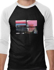 SKYLARK - Halftone Men's Baseball ¾ T-Shirt