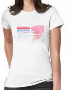 SKYLARK - Halftone Womens Fitted T-Shirt