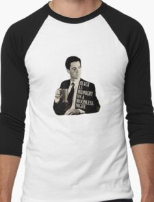 Cooper and good cup of coffee Men's Baseball ¾ T-Shirt