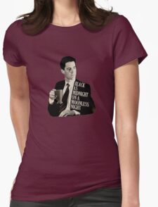 Cooper and good cup of coffee Womens Fitted T-Shirt