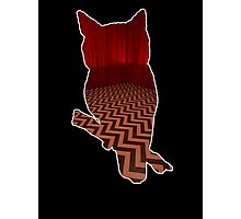 Owl (Twin Peaks) color Photographic Print