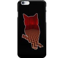 Owl (Twin Peaks) color iPhone Case/Skin
