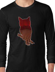 Owl (Twin Peaks) color Long Sleeve T-Shirt