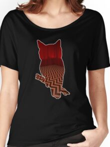 Owl (Twin Peaks) color Women's Relaxed Fit T-Shirt