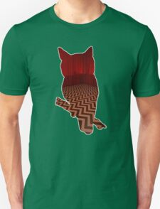 Owl (Twin Peaks) color T-Shirt