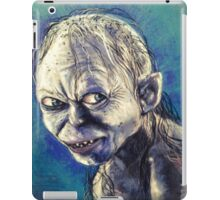 Portrait of Gollum iPad Case/Skin
