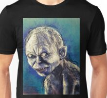 Portrait of Gollum Unisex T-Shirt
