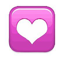 Heart Decoration Apple / WhatsApp Emoji by emoji