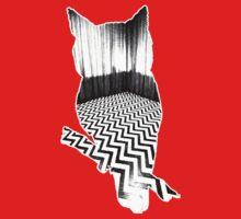 Owl (Twin Peaks) B-W by miguelserra