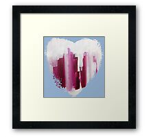 Draw Your Swords - Abstract Heart II Framed Print