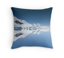Reflecting the world Throw Pillow