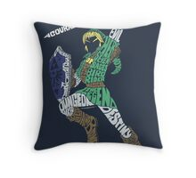 Describing The Legend Throw Pillow