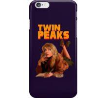 Twin Peaks Fiction (Pulp Fiction parody) iPhone Case/Skin