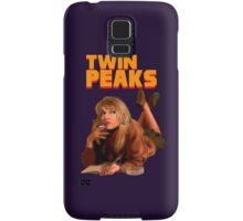 Twin Peaks Fiction (Pulp Fiction parody) Samsung Galaxy Case/Skin