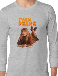 Twin Peaks Fiction (Pulp Fiction parody) Long Sleeve T-Shirt