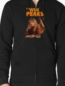 Twin Peaks Fiction (Pulp Fiction parody) T-Shirt