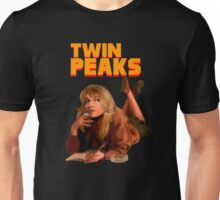 Twin Peaks Fiction (Pulp Fiction parody) Unisex T-Shirt