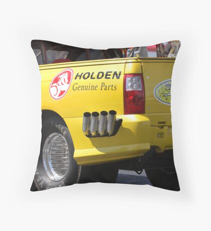 Sitting Idle Throw Pillow