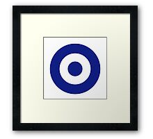Hellenic Air Force - Roundel Framed Print