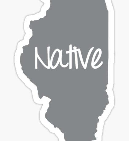 Illinois Native Pride IL Chicago Sticker