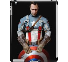 Michael Mulligan as Captain America (Photography by Misty Autumn Imagery) iPad Case/Skin