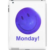 Happy Monday Blue Balloon iPad Case/Skin