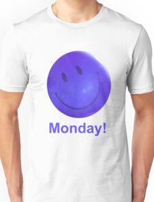 Happy Monday Blue Balloon Unisex T-Shirt