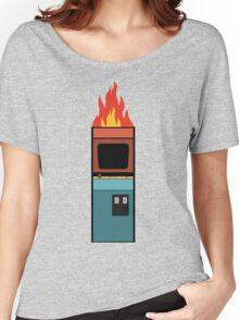 Arcade Fire Minimal Women's Relaxed Fit T-Shirt