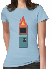 Arcade Fire Minimal Womens Fitted T-Shirt