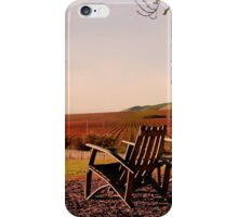 View from Cambria Winery, Santa Maria, CA iPhone Case/Skin