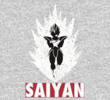 Dragon Ball Z Saiyan T shirt by artemys