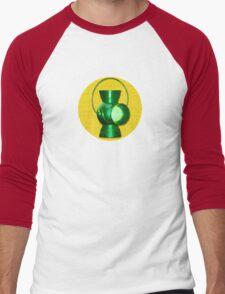 Alan Scott -- The Original Green Lantern Men's Baseball ¾ T-Shirt