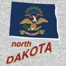 north dakota state flag by peteroxcliffe