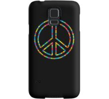 Colored Circles Peace Sign Symbol Samsung Galaxy Case/Skin
