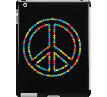 Colored Circles Peace Sign Symbol iPad Case/Skin