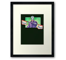 The joker Maul Framed Print