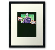 The joker Maul Framed Print