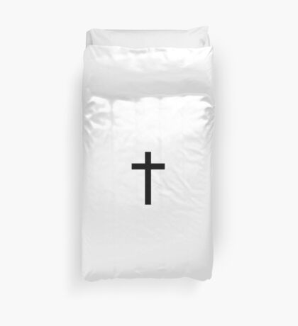 Cross Crucifix Duvet Cover