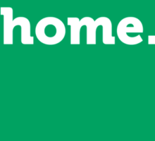 Indiana HOME GREEN Sticker