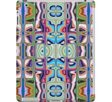 Abstract Pattern of Colors iPad Case/Skin