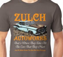Zappa's Zulch Autoworks Unisex T-Shirt